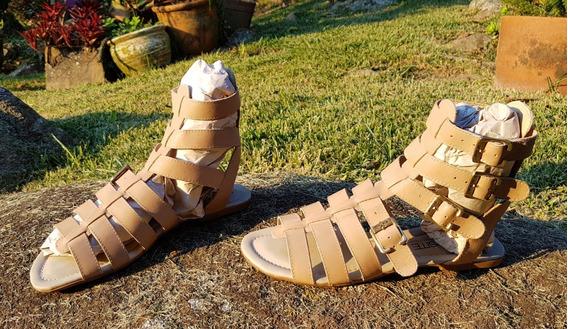 Sandália Gladiadora Opposite 40