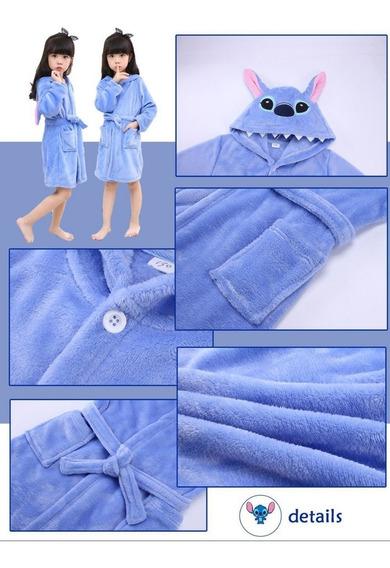 Bata ,pijama Baño Alberca Polyester Personaje A Elegir