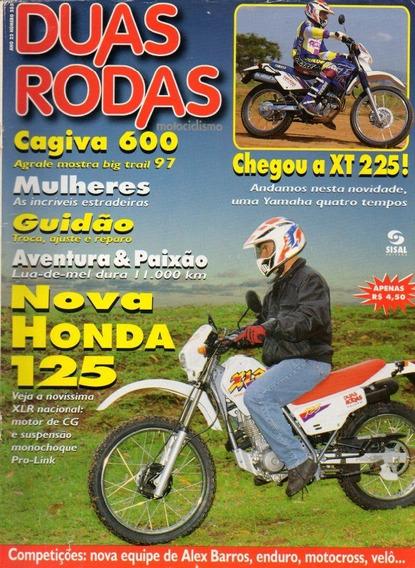 Duas Rodas N°255 Honda Xlr 125 Yamaha Xt 225 Cagiva W16 600