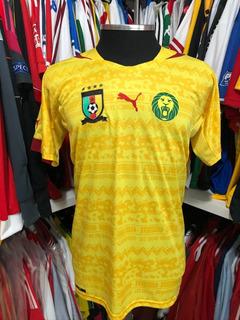 Camisa De Futebol Seleção Camarões África