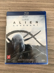 Blu-ray Alien Covenant Dublado
