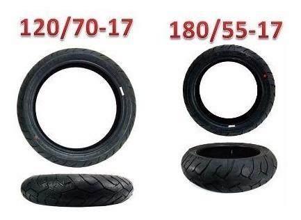 Pneu Cb600 Hornet 120/70-17 E 180/55-17 Pirelli Diablo (par)