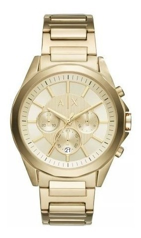 Relógio Armani Dourado Original Masculino C/ Garantia Oferta