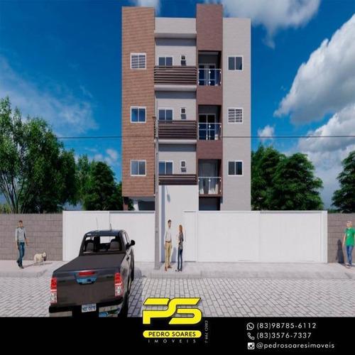 Apartamento Com 2 Dormitórios À Venda, 50 M² Por R$ 135.000 - João Paulo Ii - João Pessoa/pb - Ap3214