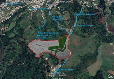 Venta De Terreno De 12 Hts. Con Proyecto De Fraccionamiento.