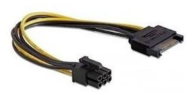 Cable Sata 15 Pin A Pcie 6 Pin Tarjeta De Video