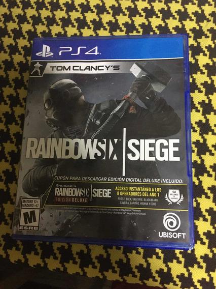 Rainbowsix Siege Ps4 Física