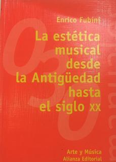 Libro La Estetica Musical Desde La Antigüedad Hasta El Siglo