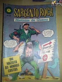 Sargento Rock Nº 02 Editora Ebal - Histórias De Guerra - Dc