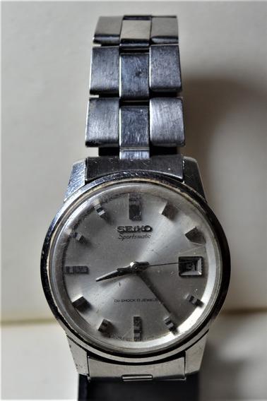 Relógio Seiko Sportsmatic Diashock 17 Jewels 7625-8060
