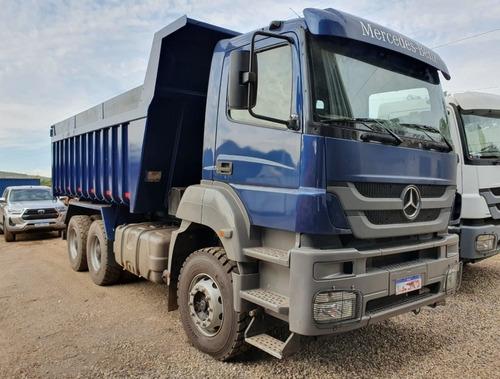 Imagem 1 de 15 de Mercedes-benz Axor 3344 6x4 Ano 2012 Caçamba Traçado 6x4
