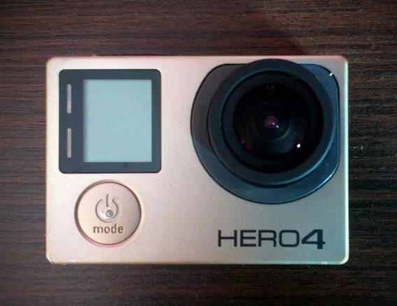 Gopro Hero 4 Black (aceito Trocas!) N Canon Nikon Sony