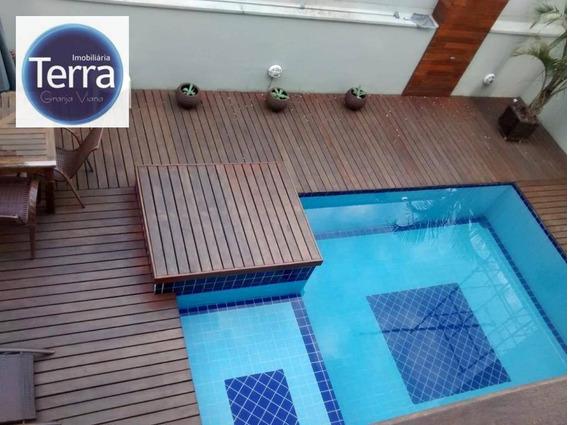 Casa Com 4 Dormitórios À Venda, 323 M² Por R$ 1.149.000 - Palm Hills - Granja Viana - Ca2009