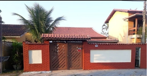 Belíssima Casa Com 300 Metros Do Mar - Itanhaém 6800   A.c.m