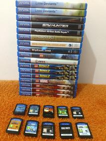 Lote Jogos Originais Ps Vita - Vendo Separado