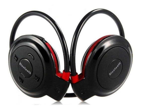Fone De Ouvido Bluetooth Sd Mp3 Fm Recarregável Preto 503