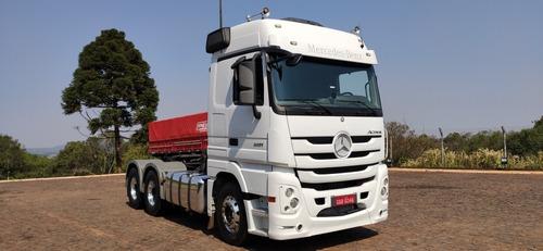 Imagem 1 de 14 de Mercedes Benz Actros 2651 Megaspace 6x4