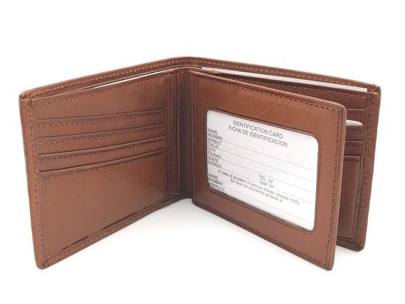 Billetera De Cuero Para Tarjetas Y Visor Fabricante