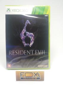 Xbox Jogo Resident Evil 6