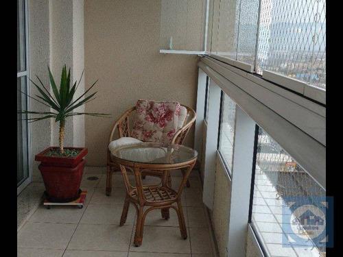 Apartamento Com 3 Dormitórios À Venda, 87 M² Por R$ 499.000,00 - Centro - São Vicente/sp - Ap5464