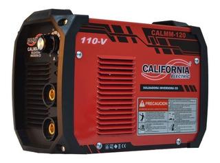 Soldadora Inversora 120 Amperes 100v Calmm120
