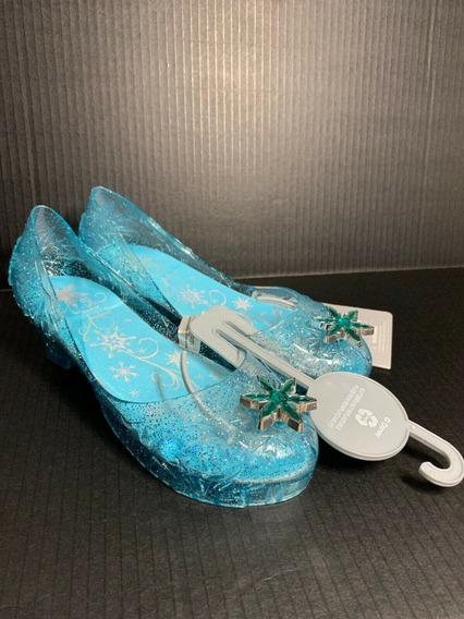 Sapato Princesa Elza Frozen Original Disney Store P/entrega