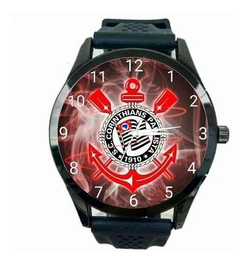 Relógio Pulso Personalizado Torcedor Corinthiano Fiel