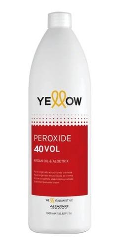 Agua Oxigenada Yellow Oxidante Crema Estable 10/20/30/40