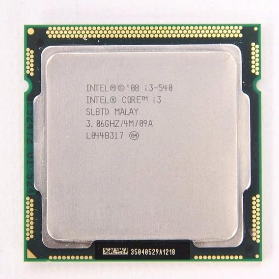 Processador I3 540 (1º Geração) 3,06ghz, Soquete Lga1156