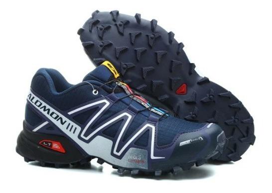 Tênis Speedcross 3 Masculino Salomon - Azull