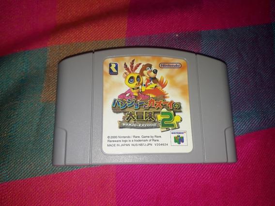 Cartucho Banjo Kazooie 2 Original N64 Japonês