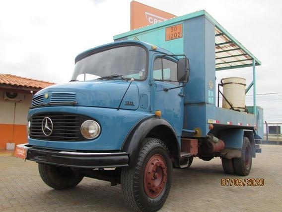 Mb 1313 4x2 Toco -comboio- Tanque Combustível E Lubrificação