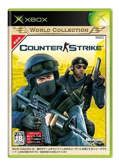 Counterstrike Xbox Japonês Mídia Física Pronta Entrega