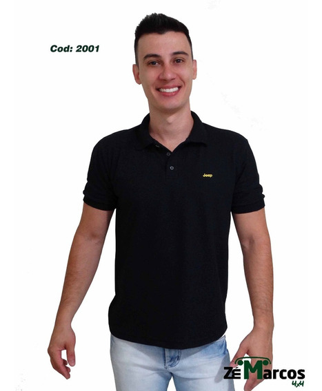 Camisa Masculina Polo Jeep Willys
