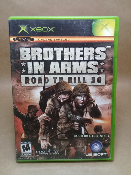 Brothers In Arms Road To Hill 30 Xbox Clássico Original