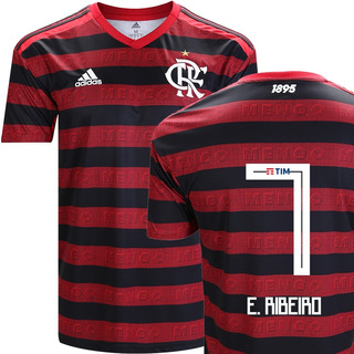 Camisa Flamengo Nº7 Everton Ribeiro Titular 2019 Original