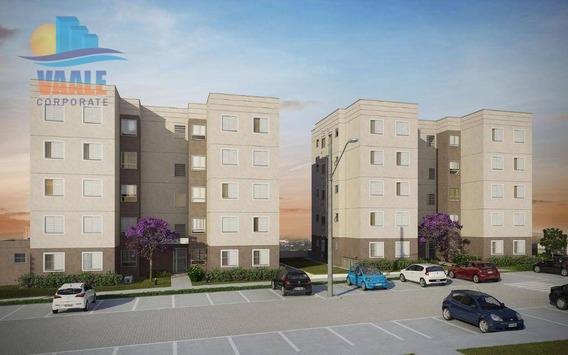 Apartamento Com 2 Dormitórios À Venda, 44 M² Por R$ 200.000 - Jardim Do Lago Ii - Campinas/sp - Ap0134