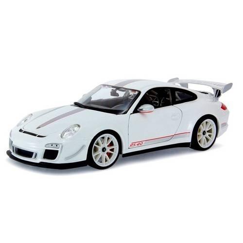 Porsche Gt3 Rs 4.0 Escala 1/18 Miniatura Decoração Presentes