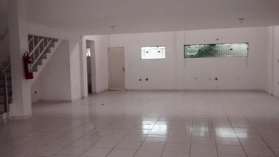 Salão Comercial, 140m² E 03 Vagas. - Sl0001