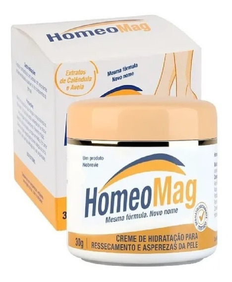 Homeopast Creme Hidratante Resseca Aspereza Dos Pés 30g