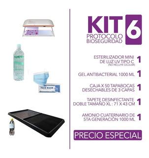 Esterilizador + Tapete En Kit 6