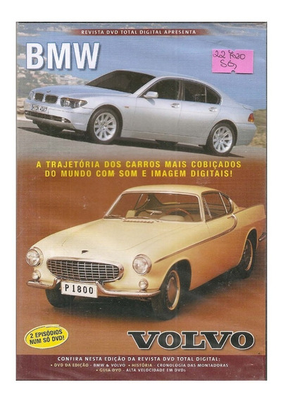Dvd Revista Dvd Total Bmw / Volvo