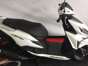 Honda Elite 125 Branca 2019