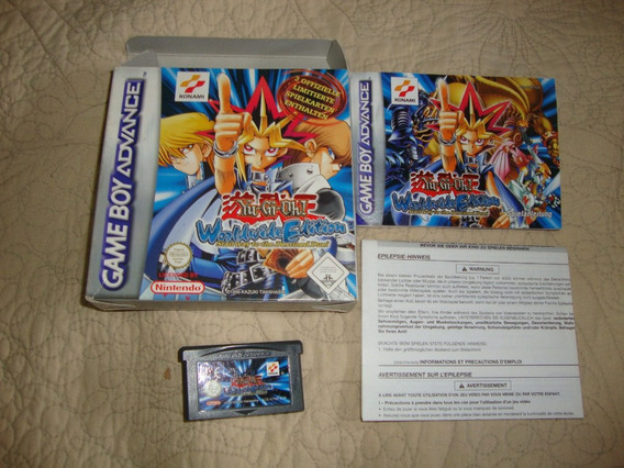 Yu-gi-oh! Worldwide Edition Completo P/ Game Boy Advance