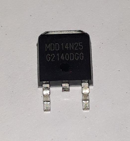 Transistor Mdd14n25 To252 14n25 Tr Mdd 14n25 Novo E Original