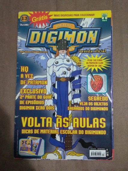 Revista Hq Rara Digimon A Vez De Patamon #13