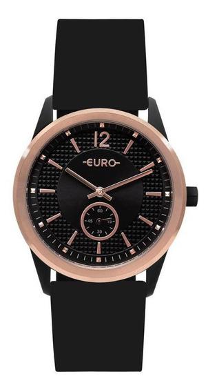Relógio Feminino Euro Multi Basic Eyes Bicolor - Original