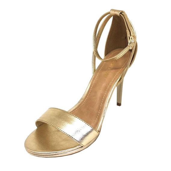 Sandália Osmoze Salto Fino Dourado
