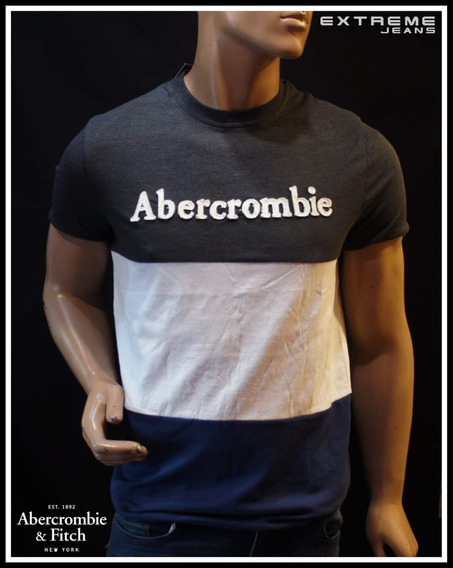 5 Playeras Abercrombie & Fitch Nuevas