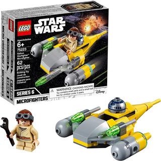 Lego 75223 Star Wars Microfighters Caza Estelar De Naboo